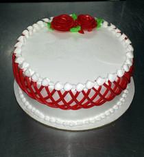 Model# 11013 - Round Cake Tejido Deco