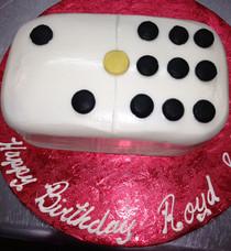 Model# 91004 - Domino Piece Cake