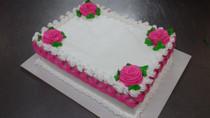 Sheet Cake Tejido Deco