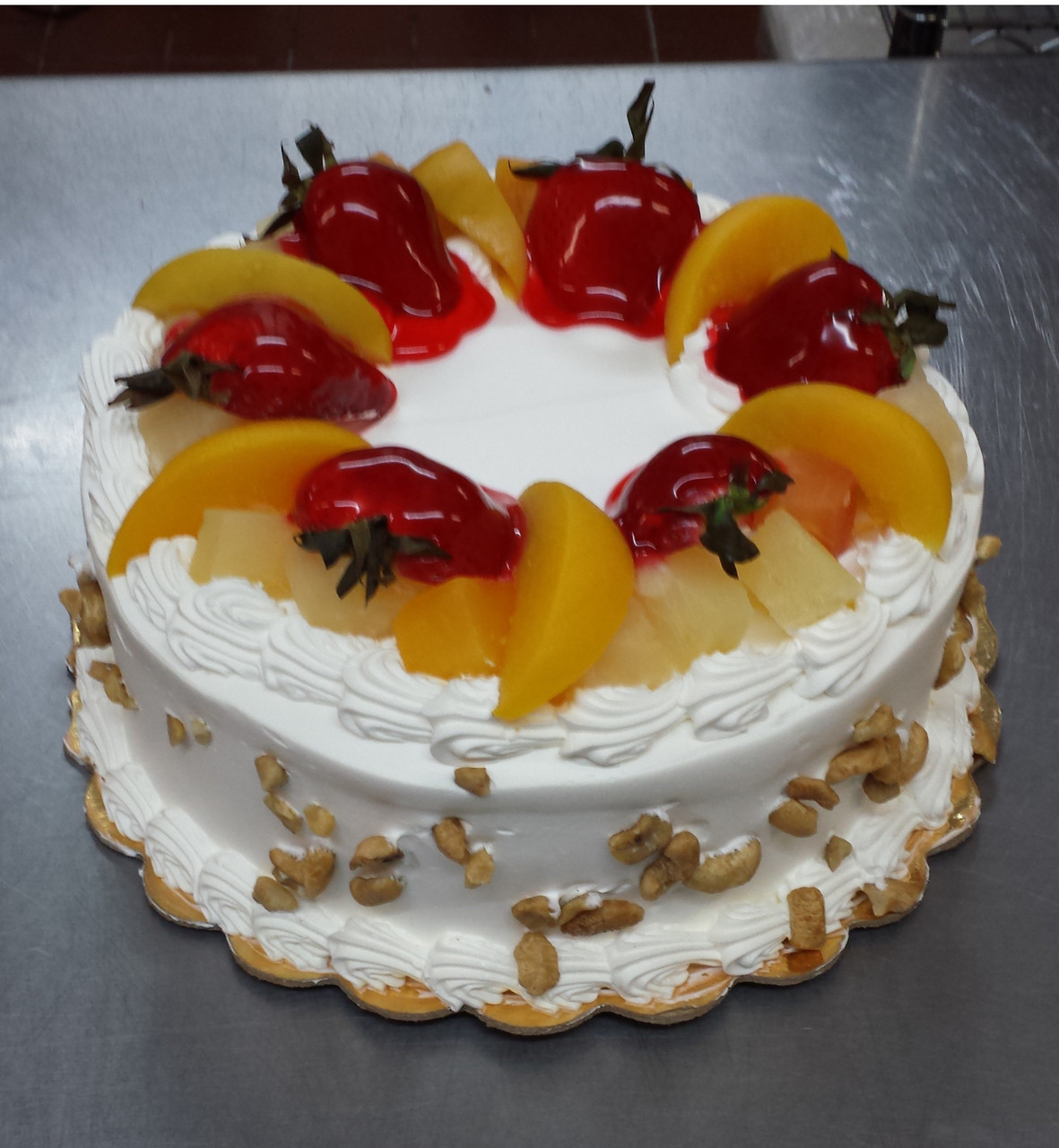 Tres Leches Cake Mixed Fruits Nuts F 22 Lgv Bakery