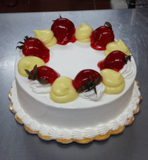 Tres Leches Cake Strawberry  & Vanilla (F-20)