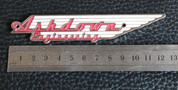 Ashdown 12.5cm metal badge emblem