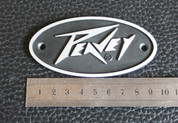 Peavey oval 9.5cm amplifier badge