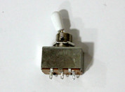 Box style (GT541) toggle switch, white tip
