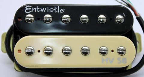 Entwistle HV58 Zebra Humbucker Pickup