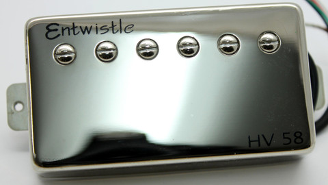 Entwistle HV58NI Nickel Humbucker Pickup (AlNiCo II magnets)
