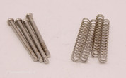 Humbucker Pickup Height Springs & Screws, Two Pairs