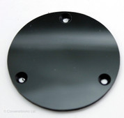 Les Paul/335/SG Guitar Foil-backed Switch Cavity Cover Panel Plate