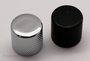 Metal Control Knob, Flat Top, Push Fit