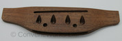 Through-bridge Pin-free Rosewood Bass Guitar Bridge