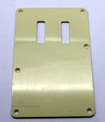 Guitar Back Plate, Two Slits