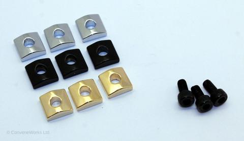 Locking Nut Clamp Set (3 Cap Screws, 3 Blocks)