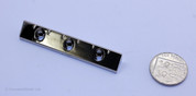 Lap Steel Guitar Nut, Metal