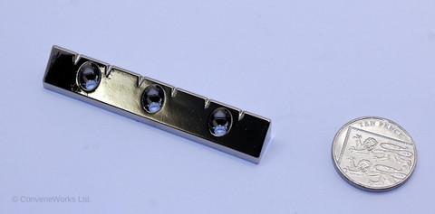 Lap Steel Guitar Nut, Metal