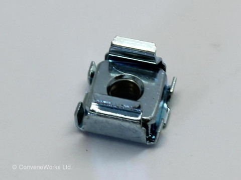 Caged nut, Imperial thread for Peavey Amplifiers and others.
