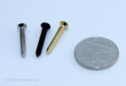 Pack of 6 bridge mounting screws, 3.5 x 30