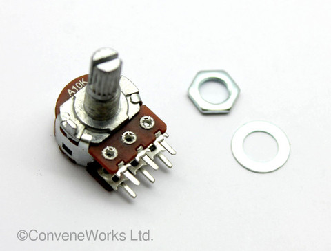 Alpha potentiometer, A10K dual