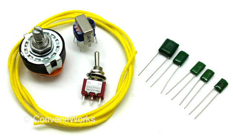 Varitone parts kit, including inductor