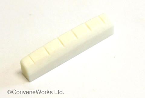 Bone Nut, 43mm x 6mm x 9mm