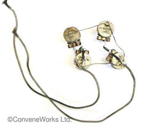 Antoria lawsuit LP wiring loom and potentiometers