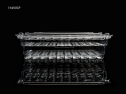 TAC-PAC® H450LP Handgun 50 Count Clear Ammo Box - Empty