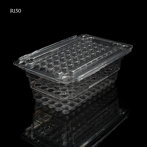 TAC-PAC® R150 50 Count Rifle Clear Ammo Box - Empty