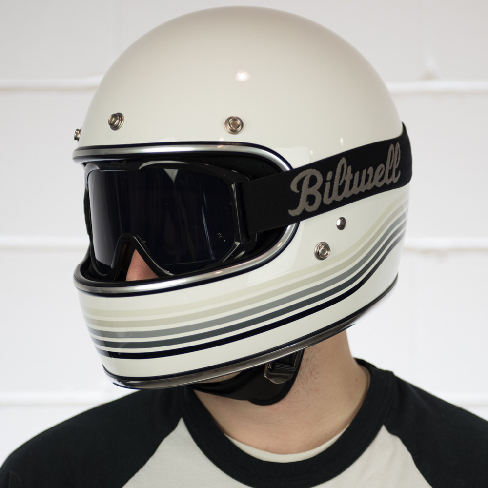 Biltwell Gringo Helmet - Limited Edition Gloss White ...
