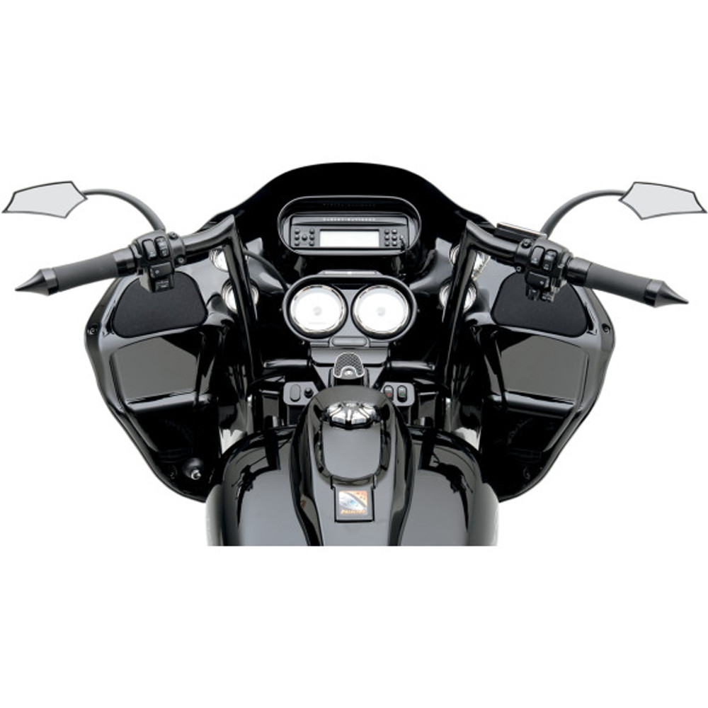 "Paul Yaffe Bagger Nation 1-1/4"" Monkey Bars Handlebars for Harley"