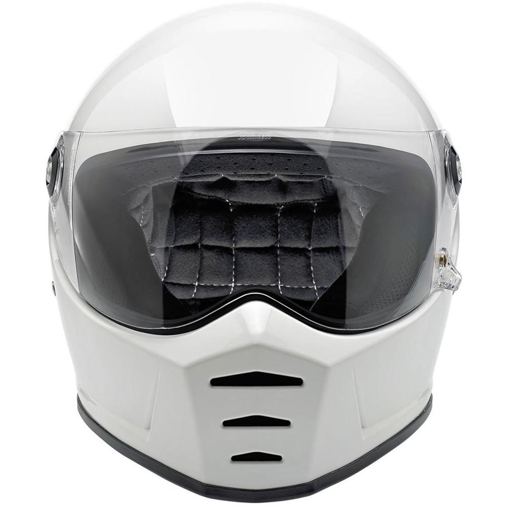 Biltwell Lane Splitter Helmet - Gloss White
