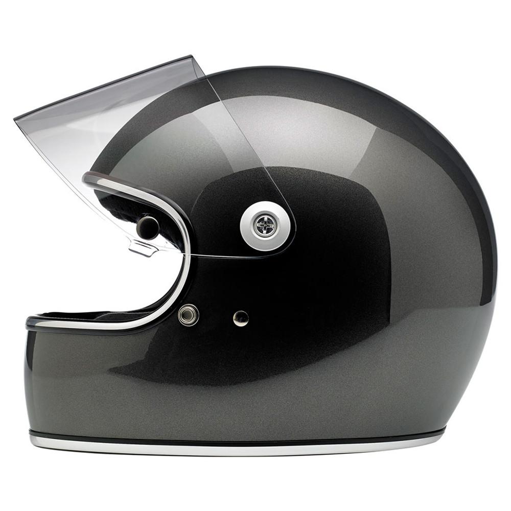 Biltwell Gringo S Helmet - Gloss Metallic Charcoal