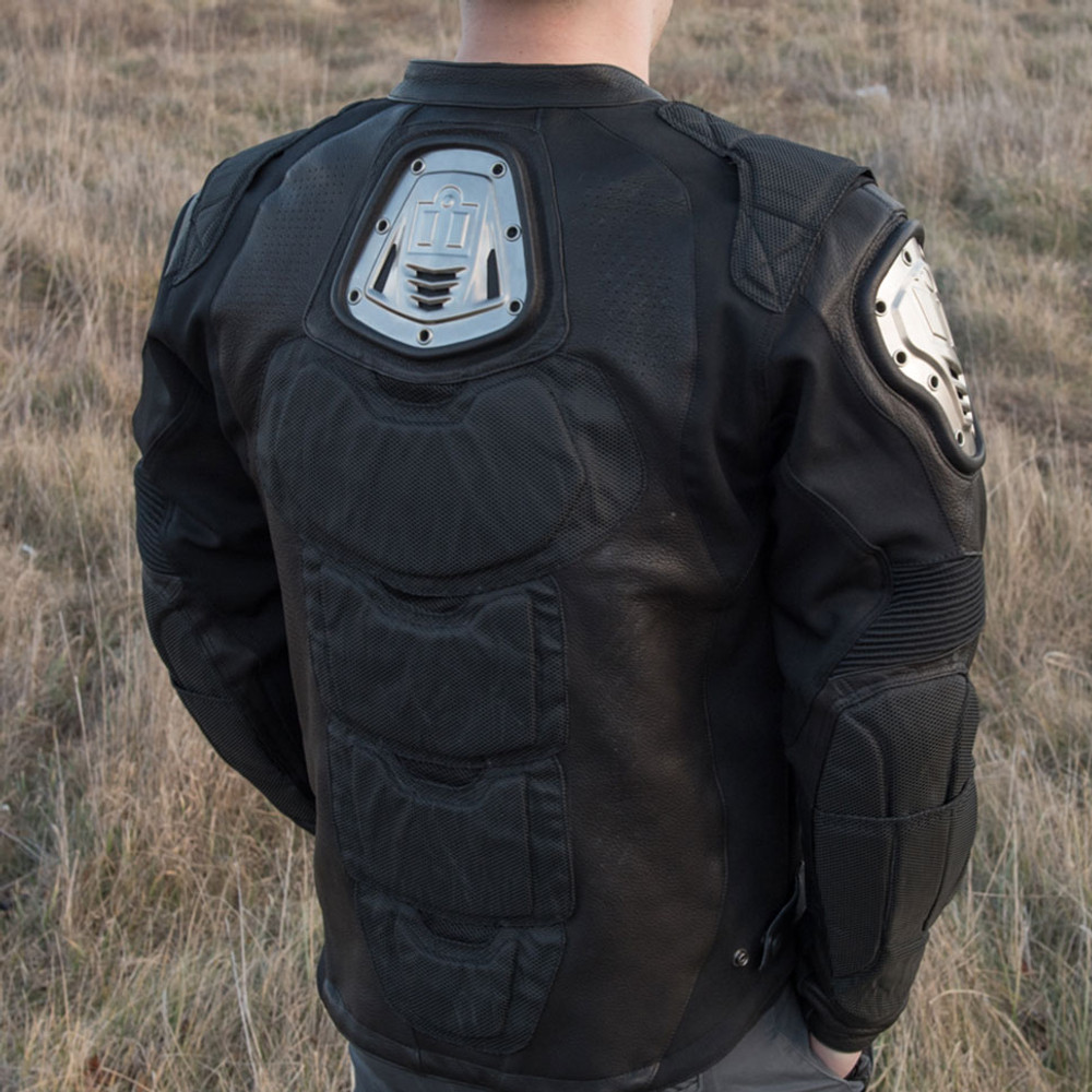 Icon timax 2 leather jacket
