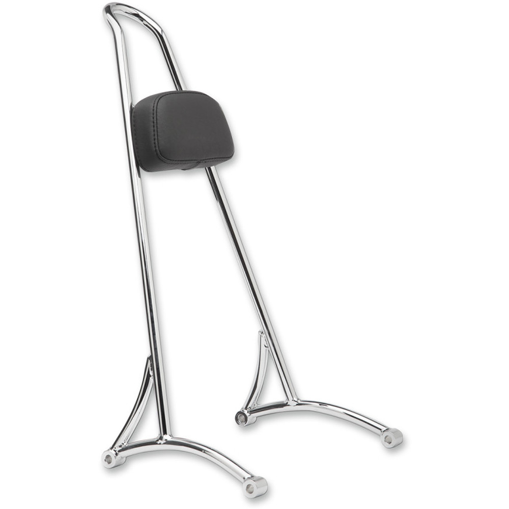 Burly Tall Sissy Bar for 1996-2003 Harley Sportster - Chrome