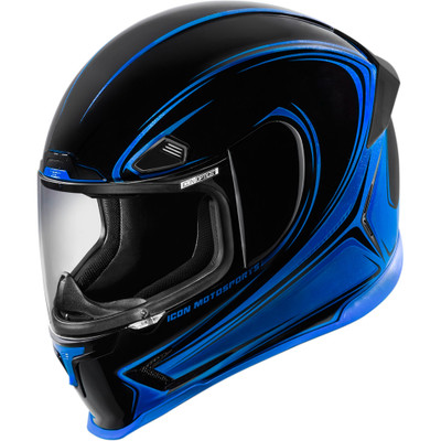 Icon Airframe Pro Halo Helmet - Blue