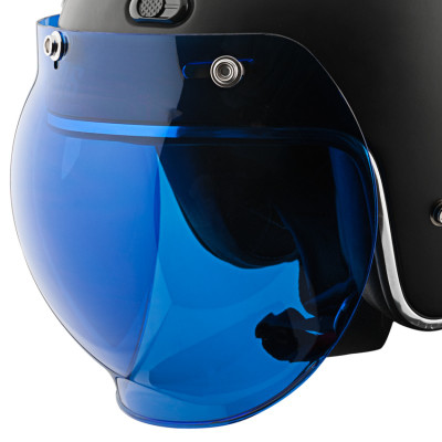 Speed and Strength 3-Snap Universal Bubble Shield - Blue