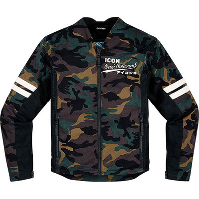 Icon 1000 Oildale Conscript Camo Jacket