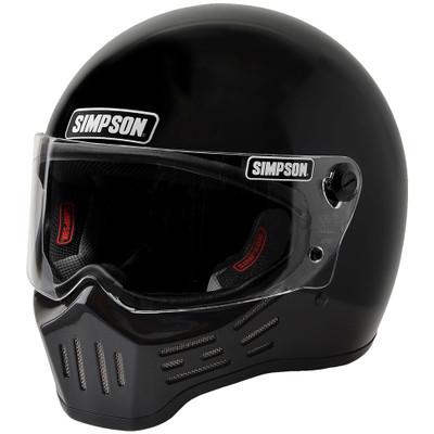 Simpson M30 Bandit Helmet - Gloss Black