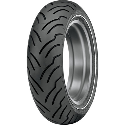 Dunlop American Elite Rear Tire for Harley - Narrow White Stripe