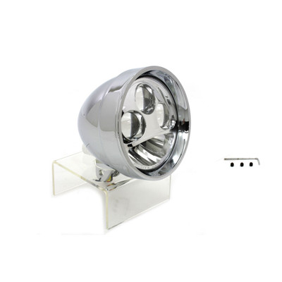 "V-Twin Chrome 5-3/4"" LED Headlight"