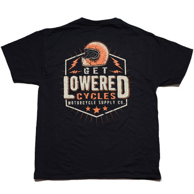 Get Lowered Cycles Helmet T-Shirt