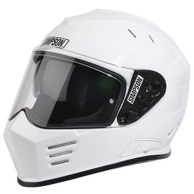 Simpson Ghost Bandit Helmet - White