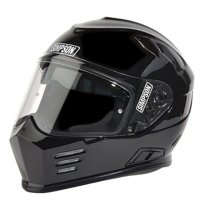 Simpson Ghost Bandit Helmet - Gloss Black