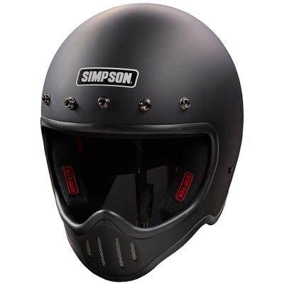Simpson M50 Helmet - Matte Black