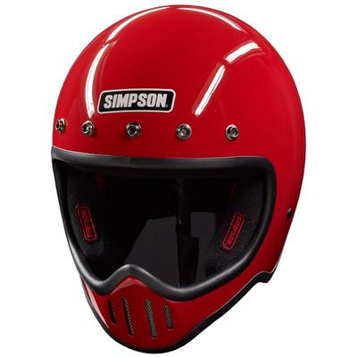 Simpson M50 Helmet - Red