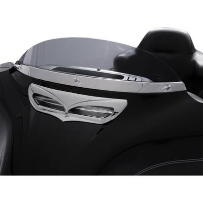 Ciro Windshield Trim for 2014-2017 Harley Touring