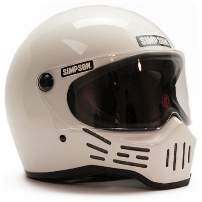 Simpson M30 Bandit Helmet - White