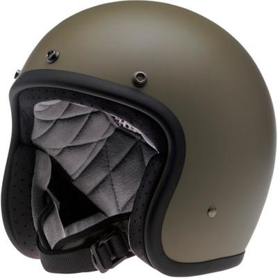 Biltwell Bonanza Helmet - Flat Olive