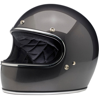 Biltwell Gringo Helmet - Charcoal Metallic