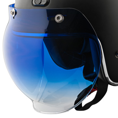 Speed and Strength 3-Snap Universal Bubble Shield - Blue Gradient