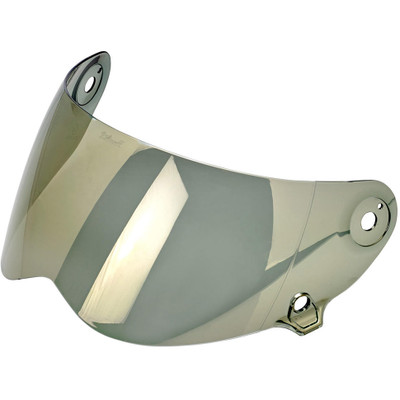 Biltwell Lane Splitter Shield - Gold Mirror