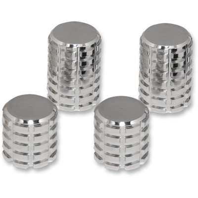Pro Pad Grenade Billet Docking Station Covers for Harley - 4-pc.
